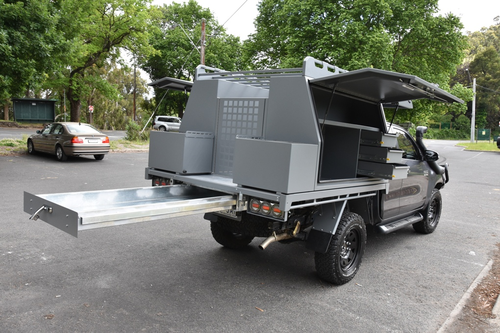View Gallery & Aluminium Ute Canopy | Custom Canopies and Toolboxes